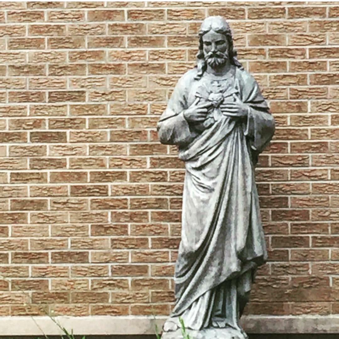 Statute of Jesus Christ in the Columbarium